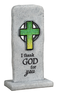 I Thank God For You Plaque  -