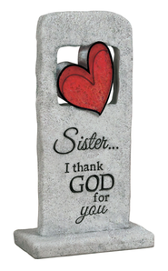 Sister I Thank God For You Plaque  -