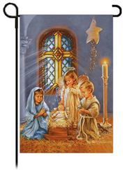 Christmas Pageant Flag, Small  -