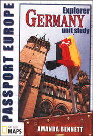 Passport Geography: Germany Explorer Level CD-ROM   -              By: Amanda Bennett