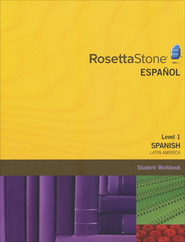 Rosetta Stone Latin American Spanish Level 1, Version 3 Workbook  -