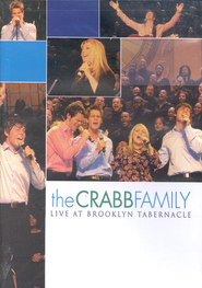 The Crabb Family Live at Brooklyn Tabernacle, DVD   -     By: The Crabb Family