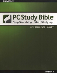 Biblesoft PC Study Bible 5.0: New Reference Library on CD-ROM  -