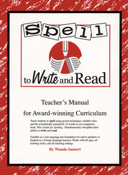 Spell to Write and Read   -              By: Wanda Sanseri