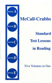 McCall-Crabbs Standard Test Lessons in Reading (Five Volumes in One)  -     By: William McCall, Lelah Mae Crabbs