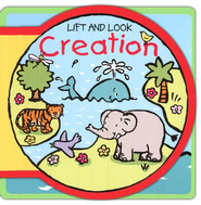Creation, A Lift and Look Foam Board Book   -              By: Gerald Hawksley                   Illustrated By: Mandy Stanley