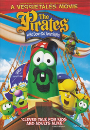 The Pirates Who Don't Do Anything: A VeggieTales Movie,  Fullscreen Edition on DVD  -