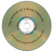 The Arrival of a King Lapbook CD-Rom   -
