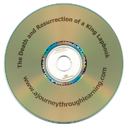 The Death & Resurrection of a King Lapbook CD-Rom   -