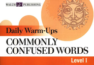Commonly Confused Words, Level 1   -     By: William W. Gentile Sr.