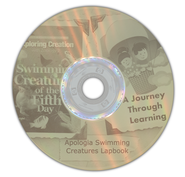 Zoology 2: Swimming Creatures of the Fifth Day Lapbook CD-ROM   -