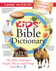 Kids' Bible Dictionary - eBook  -     By: Jean Fischer