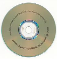 Government and the Election Process Lapbook CD-Rom   -