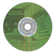 Exploring Creation with Astronomy Lapbook CD-Rom   -