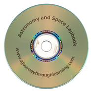 Astronomy and Space Lapbook CD-Rom   -