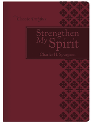 Strengthen My Spirit - eBook  -     By: Charles H. Spurgeon