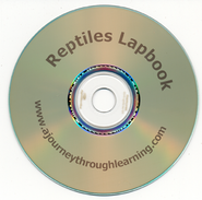 Reptiles Lapbook CD-Rom   -