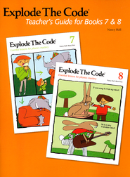 Explode the Code Teacher's Guide for Books 7 & 8   -