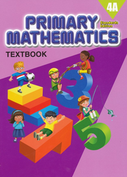 Primary Mathematics Textbook 4A (Standards Edition)   -