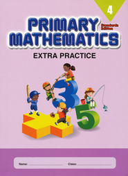 Primary Mathematics Extra Practice Book 4, Standards Edition   -