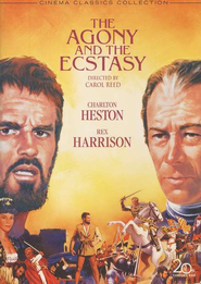 The Agony and the Ecstasy (1965), DVD   -