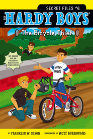 The Bicycle Thief - eBook  -     By: Franklin W. Dixon     Illustrated By: Scott Burroughs