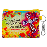 Flowers, You Are Loved Coin Purse  -