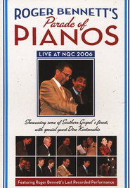 Roger Bennett's Parade of Pianos DVD  -