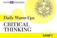 Daily Warm-Ups: Critical Thinking, Level 1   -