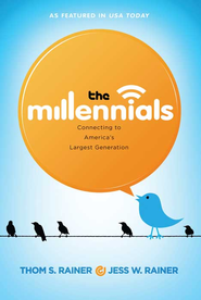 The Millennials: Connecting to America's Largest Generation - eBook  -     By: Thom S. Rainer, Jess W. Rainer