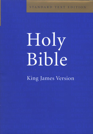 KJV Standard Text Bible, Hardcover   -     By: Bible