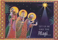 Let Us be Like the Magi Christmas Card, Pack of 20   -