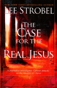 The Case For The Real Jesus, Large Print  -              By: Lee Strobel