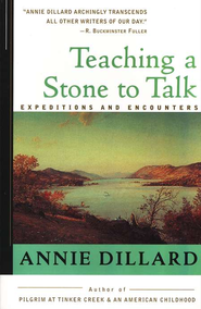 Teaching a Stone to Talk   -     By: Annie Dillard