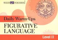 Daily Warm-Ups Figurative Language, Level 2   -