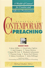Handbook of Contemporary Preaching  - Slightly Imperfect  -