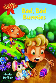 Pee Wee Scouts: Bad, Bad Bunnies - eBook  -     By: Judy Delton