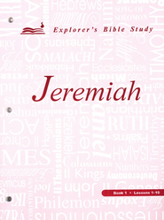 Jeremiah, Book 1 (Lessons 1-10)   -