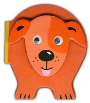 Chunky Dog Board Book   -     By: Emily Bolam