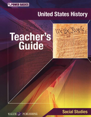 Power Basics United States History Teacher's Guide   -