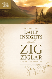 The One Year Daily Insights with Zig Ziglar - eBook  -     By: Zig Ziglar, Dwight Reighard