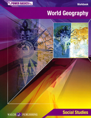Power Basics World Geography Student Workbook with Answer Key  -