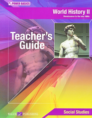 Power Basics World History 2 Teacher's Guide   -