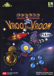Singapore CD-ROM Vroot Vroom (Grade 3 & 4)   -