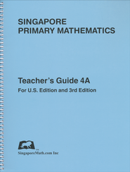 Singapore Math Primary Math Teacher's Guide 4A   -