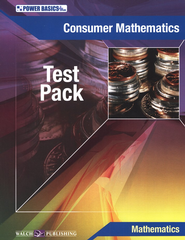 Power Basics Consumer Mathematics Tests   -