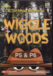Singapore Math CD-ROM Wiggle Woods (Grade 5 & 6)   -