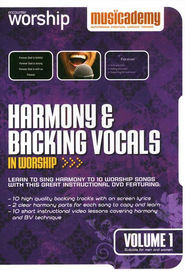 Harmony & Backing Vocal In Worship, Volume 1   -