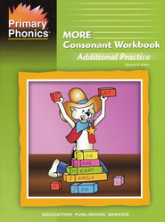 More Primary Phonics Consonant Workbook     -     By: Barbara W Maker