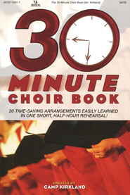 The 30-Minute Choir Book   -